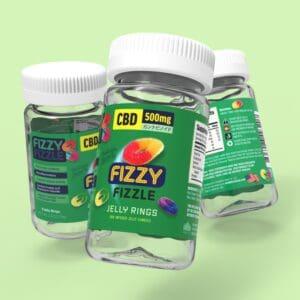 Fizzy Fizzle CBD Jelly Rings